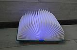Оригінальний паперовий LED світильник -нічник Книга, фото 2