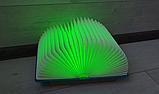 Оригінальний паперовий LED світильник -нічник Книга, фото 3