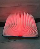 Оригінальний паперовий LED світильник -нічник Книга, фото 4
