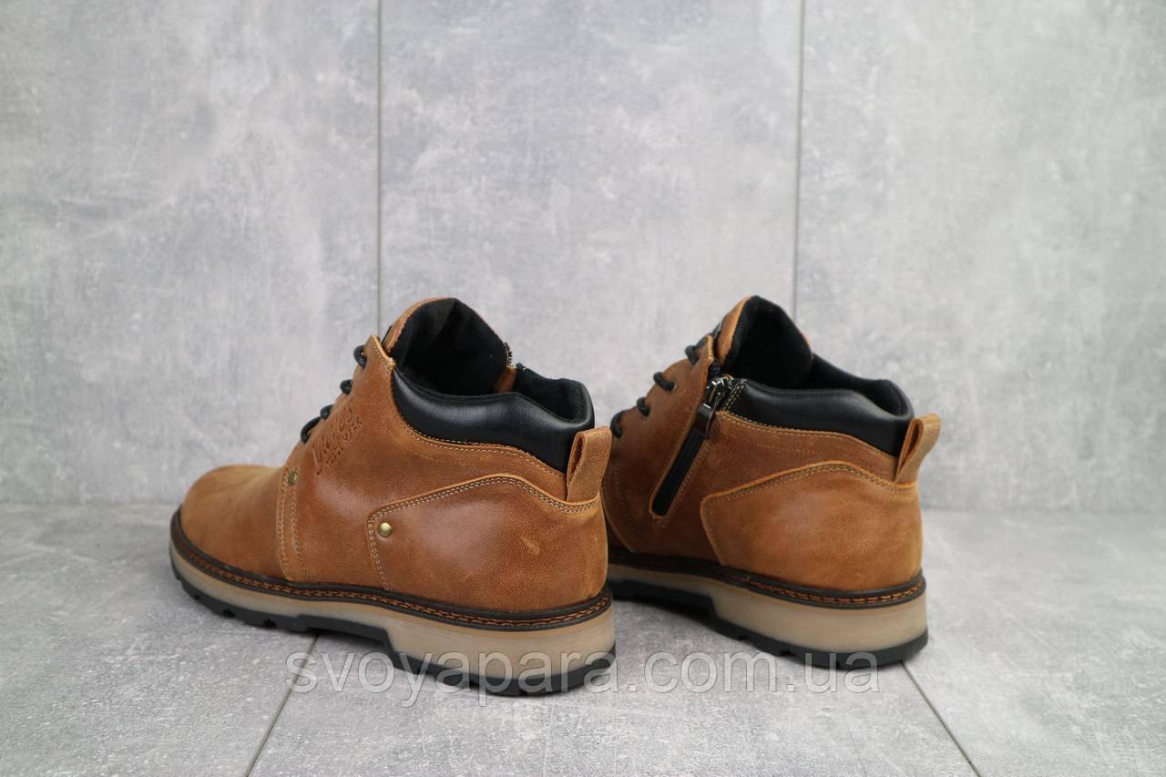 Ботинки мужские Yuves 781 рыжий (натуральная кожа, зима)