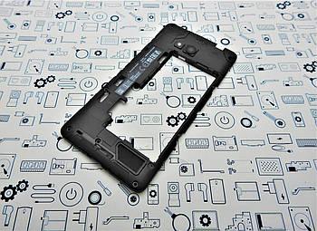 БУ. Microsoft Lumia 640 корпус средний+ стекло камеры