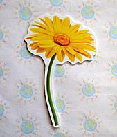 Цветочек Жёлтый. Настенная декорация для детского сада.