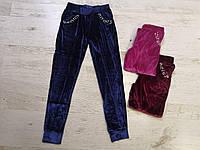Спортивные велюровые штаны для девочек, Seagull, 146,152,158,164 см,  № CSQ-52122