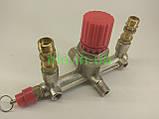 Контрольно распределительный блок компрессора (диаметр наружный 21 мм и 13 мм, диаметр внутренний 9 мм), фото 2