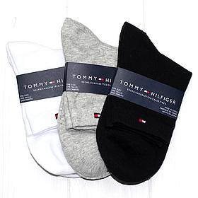 Мужские носки подарочный набор Томму Хилфигер 3шт хлопок