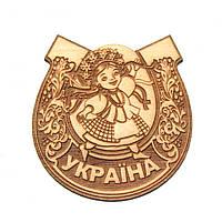 """Магніт дерев'яний """" Україна """""""