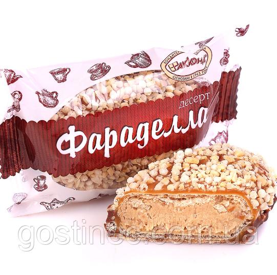 Конфеты Фараделла кондитерская фабрика Акконд с орешками и воздушным рисом