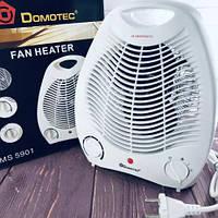 Тепловентилятор, обогреватель, дуйка Domotec MS 5901 на 2000 Вт