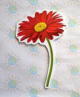 Цветочек Красный. Настенная декорация для детского сада.