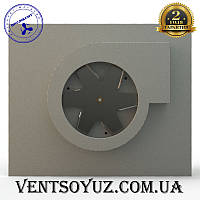 Эжекторный дымосос 150/20 из нержавеющей стали марки AISI 304 для плоских дымоходов, фото 1
