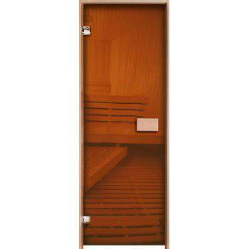 Двери для сауны Бронза 80х200