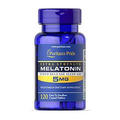 Puritan's Pride Melatonin 5 mg, Мелатонин (120 таб.)