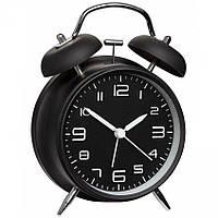 Будильник (часы аналоговые) TFA Sweep, Black