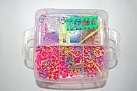 Набор резиночек для плетения Rainbow Loom Bands 3000 шт.