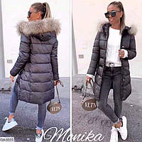 Куртка женская зимняя с капюшоном синтепон 200 размеры 42 44 46 48 Новинка много цветов