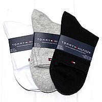 Носки мужские брендовые набор Томму Хилфигер 3шт хлопок, фото 1