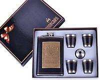 Подарочный набор с Флягой Jim Beam (Джим Бим), фото 1