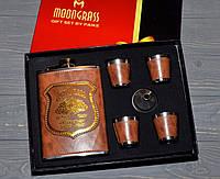 Подарочный набор Фляга 4 рюмки воронка Jim Beam (Джим Бим )