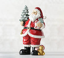 Новогодняя статуэтка Санта полистоун h22см Гранд Презент 1016545