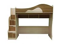 Кровать чердак с диваном 2000××1400