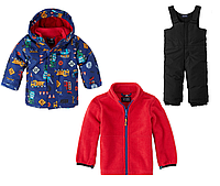 Детский зимний костюм куртка 3 в 1 и полукомбинезон Сhildren's Place для мальчика