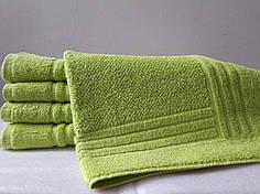 Полотенце махровое 50х70 (650г/м) для ног Nostra Зелёное