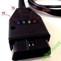 USB K-Line  адаптер ( OBD2 ) профессиональный