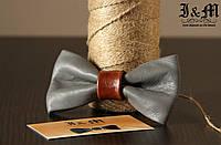 Кожаная галстук-бабочка I&M (010820)