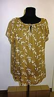 Женские блузки ,тонкая вискоза , холодок ,100% вискоза , 50,52,54,56, БЛ 037-21