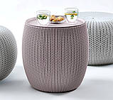 Набор садовой мебели Urban Knit Set ( Cozy Set ) из искусственного ротанга ( Allibert by Keter ), фото 5