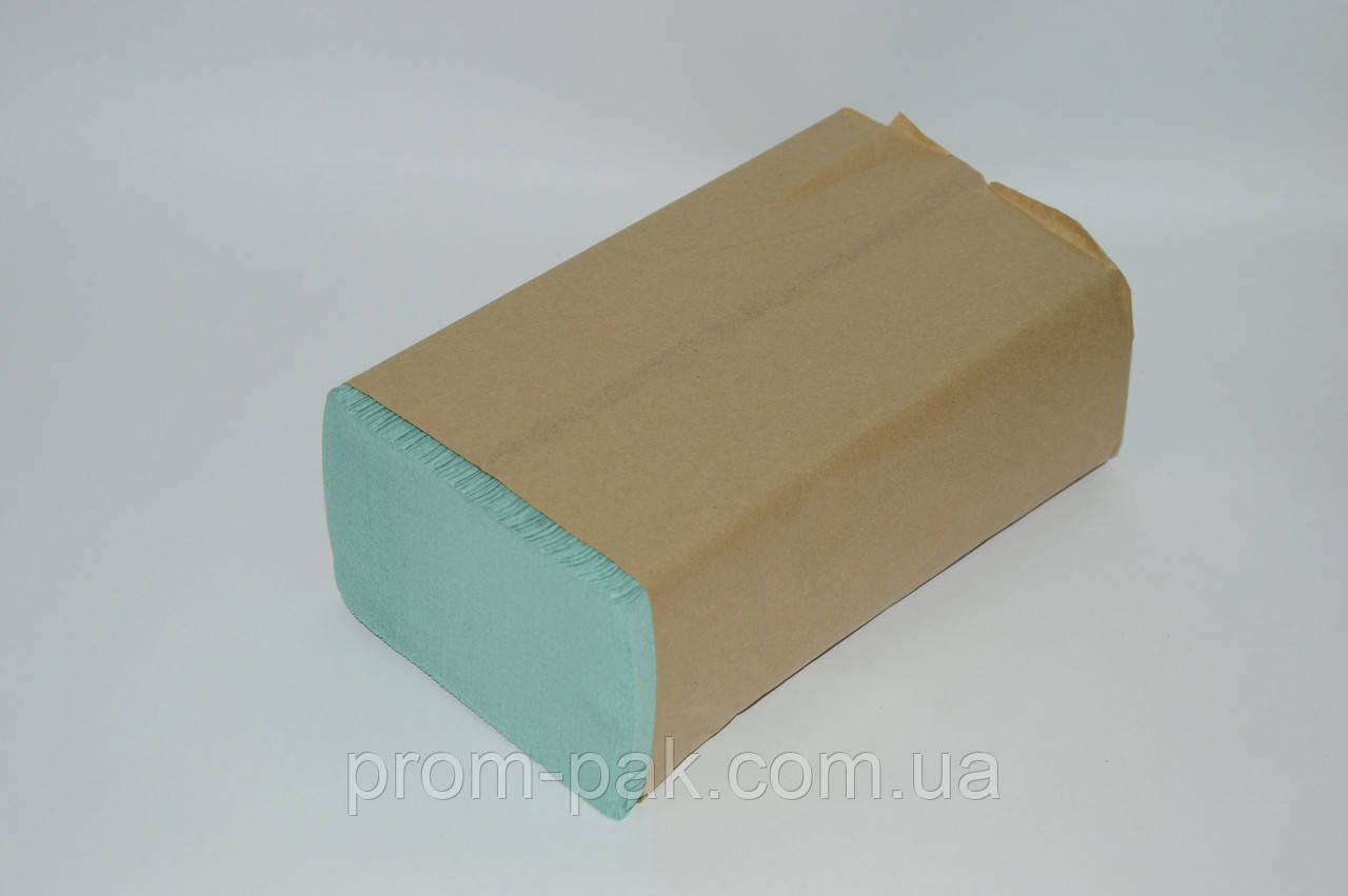 Бумажные полотенца Кохавинка ZZ 22*23 зеленые