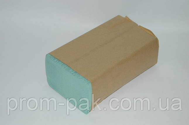 Бумажные полотенца Кохавинка ZZ 22*23 зеленые, фото 2