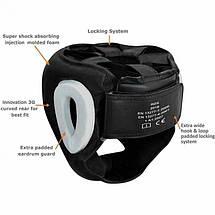 Боксерский шлем с защитой подбородка RDX WB S, фото 3
