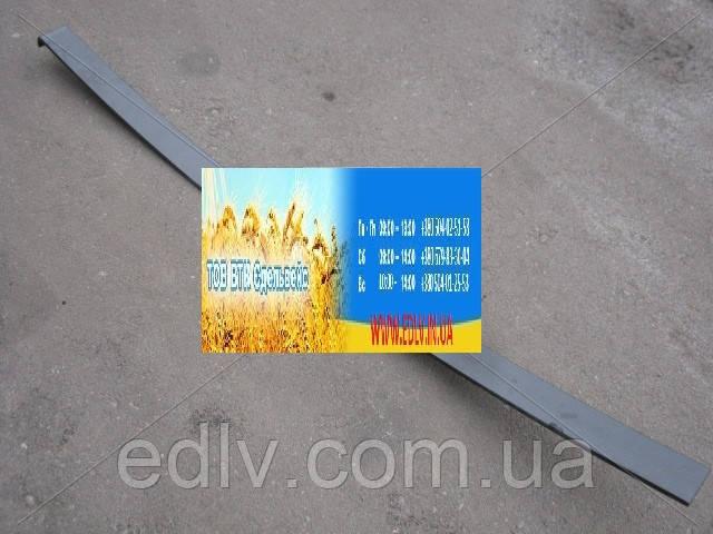 Лист рессоры №2 передней ЗИЛ 130 1420мм (пр-во Чусовая) 130-2902102-02