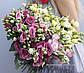 Букет из эустомы бело розовый - омбре, фото 2