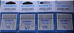 """Универсальные набор игл для бытовых швейных машин """"SCHMETZ"""" 10 игл"""