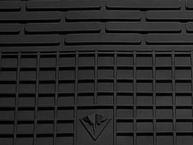 Volkswagen Amarok 2009- Комплект из 2-х ковриков Черный в салон