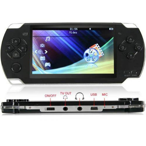 Ігрова приставка PSP Mp5 9999 Ігор!+4 Гб пам'яті