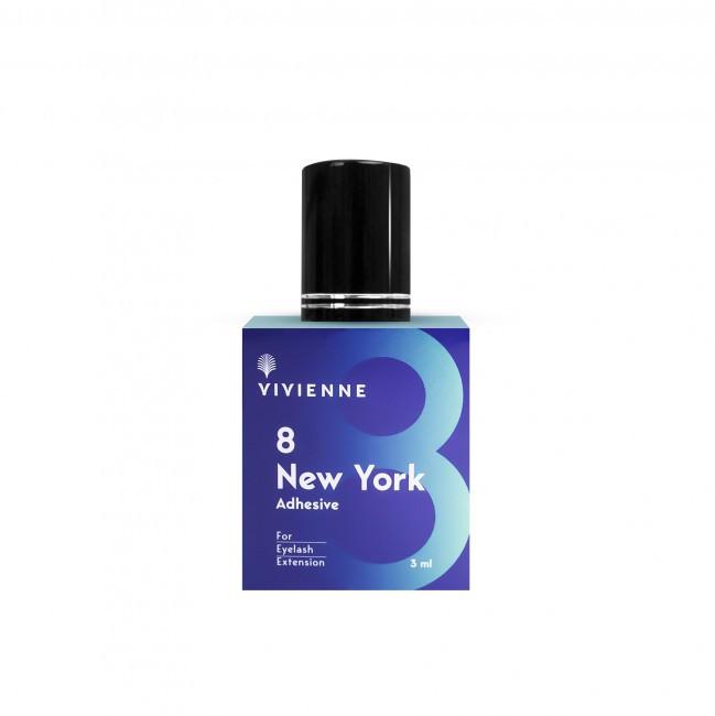 "Клей для наращивания ресниц ""Vivienne NEW YORK"", 3 мл"