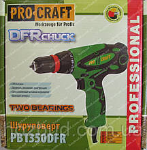 Сетевой шуруповерт Procraft PB1350DFR (съемный патрон)