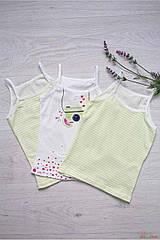 """ОПТОМ Набор майка 3шт. """"Clic"""" для девочки 3-4 лет (3-4 года)  Luxxa 3037166053028"""