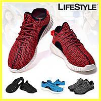 Женские кросовки Adidas Yeezy Boost 350 Качественная копия! Красные