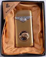 Золотой орел Подарочная зажигалка ХА 6 откидная крышка Оригинальный подарок ценителям табака Подарок другу