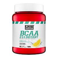 Незамінні аміникислоти UNS BCAA 2-1-1 Instant - 500g лимон
