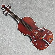Настенные интерьерные часы Скрипка
