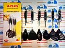Кухонный набор A Plus из 7 предметов с антипригарным покрытием. Лопатки для кухни TyT, фото 3