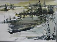 Персональная выставка работ киевской художницы Елены Карпинской