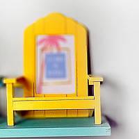 Рамка для фото в форме стула, желтая (IMP_50_4_YELLOW)