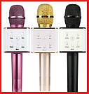 Беспроводной Караоке Микрофон Bluetooth Q7 в ЧЕХЛЕ TyT, фото 3