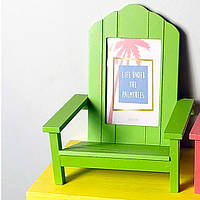 Рамка для фото в форме стула, салатовая (IMP_50_3_GREEN)